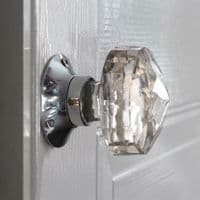 Cut Glass mortice knobs